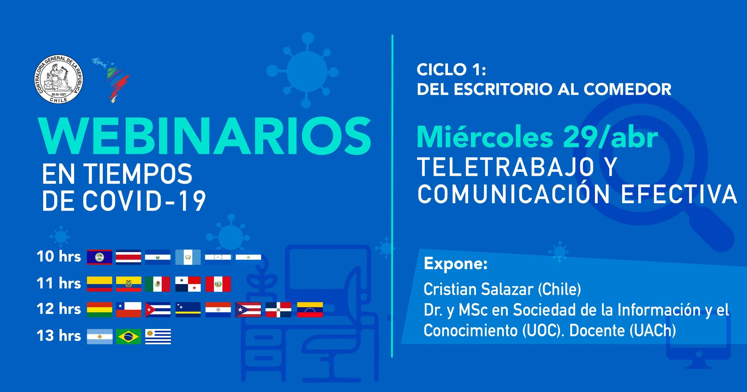 They will host a webinar on digital citizenship in Bolivia