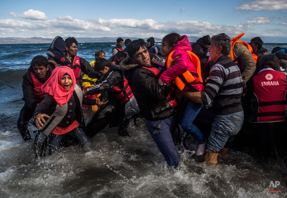 Turkey saves almost 70 migrants on a boat in the Aegean