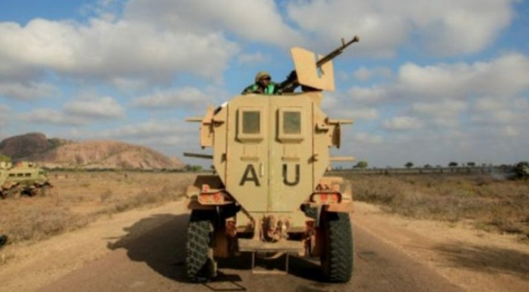 A civilian dies in an attack on an AMISOM convoy in the Somali capital