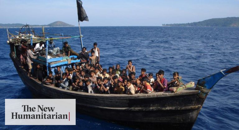 Around 300 Rohingya refugees come to Indonesia after more than six months at sea