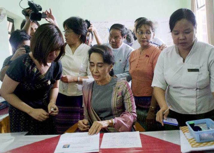 Burmese rules out a postponement of the November 8 elections