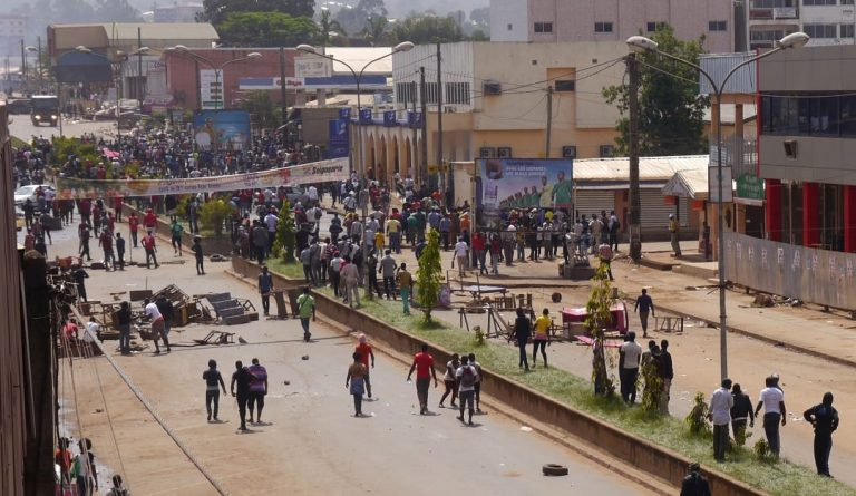 "Cameroon's main opposition leader says the population ""feels like they have been left to their own devices""."