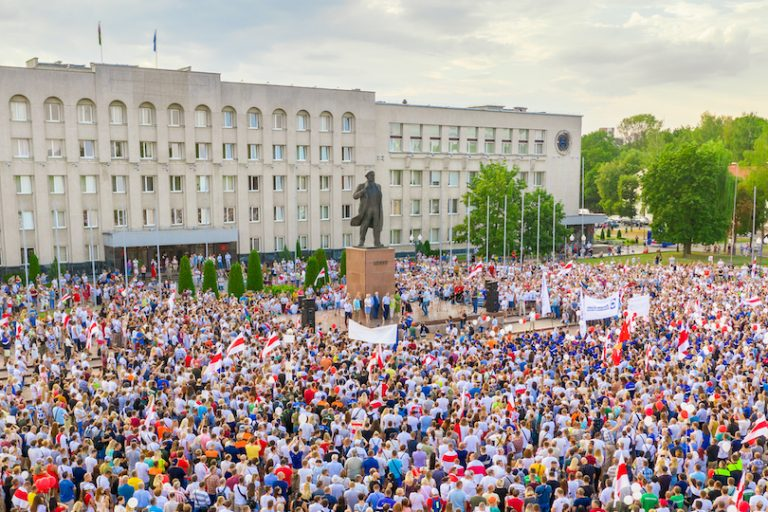 EU regions condemn the repression and are open to cooperation with Belarusian cities and regions