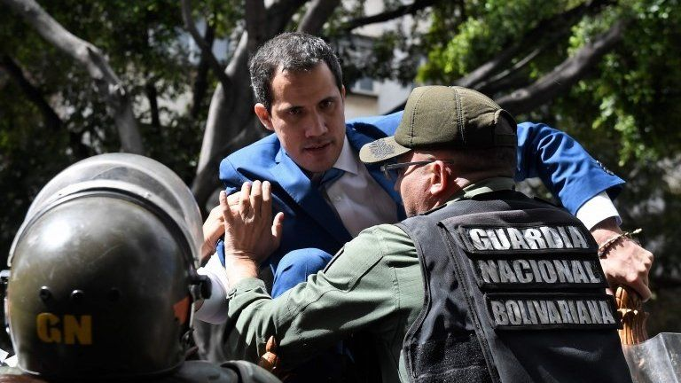 """Four of those responsible for """"Operation Gideon"""" to overthrow the Maduro prisoners in Colombia"""