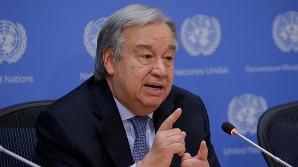 Guterres warns that there could be more than a million cases of coronavirus in Yemen