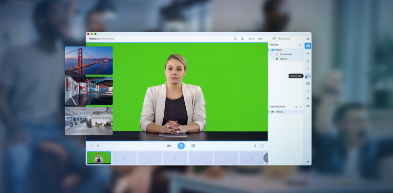 How to add background images to your video calls
