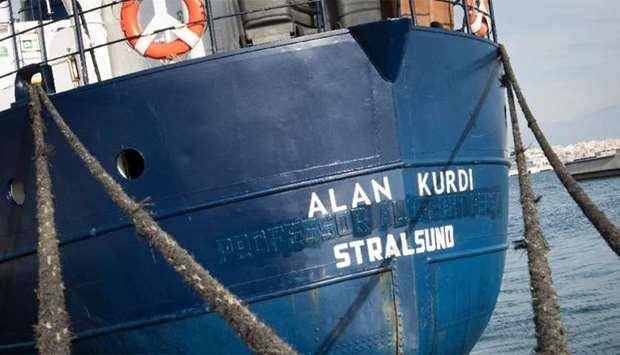 "Italy approves the disembarkation of migrants from ""Alan Kurdi"""