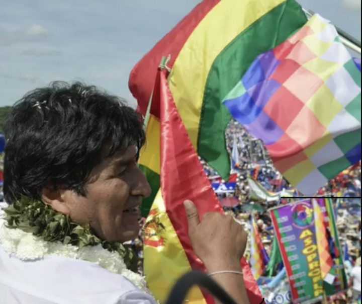 Morales links his possible return to Bolivia with the results of the October elections