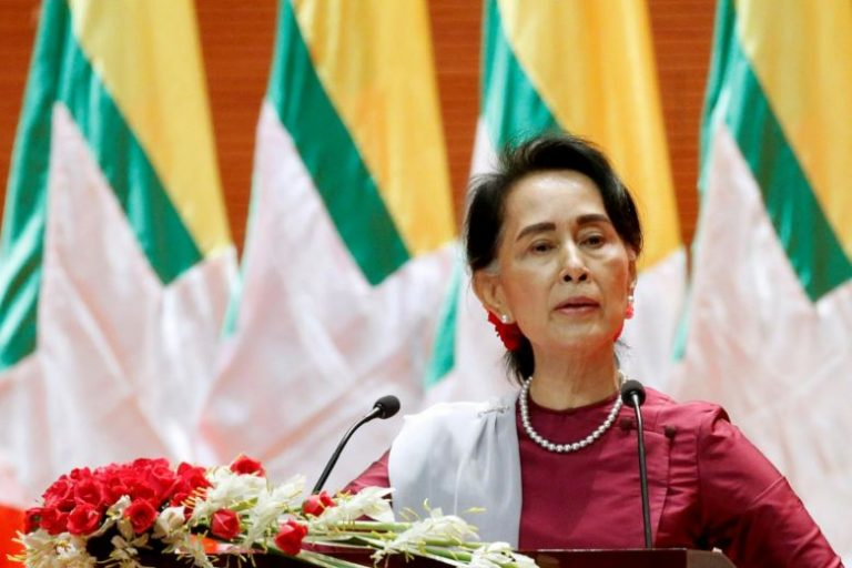 Suu Kyi is under pressure to postpone elections in Burma amid a surge in COVID-19 cases