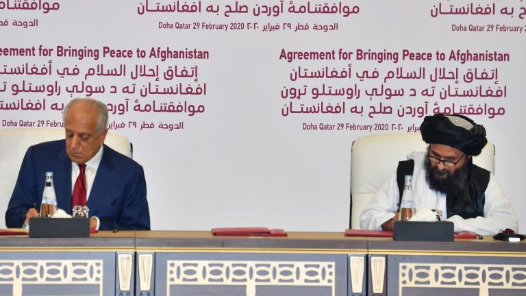 The Afghan government and the Taliban will begin their peace talks in Doha on Saturday
