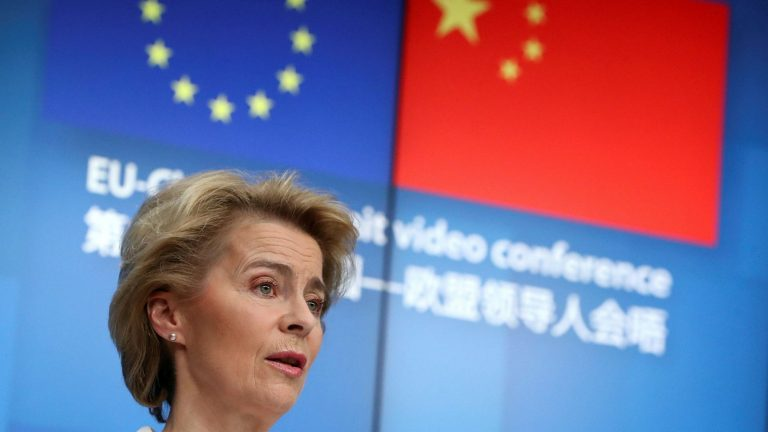 The EU and China will discuss on Monday how an investment deal can be concluded before the end of the year