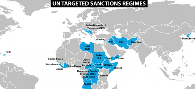 The EU is imposing sanctions against two people and three organizations for violating the arms embargo in Libya