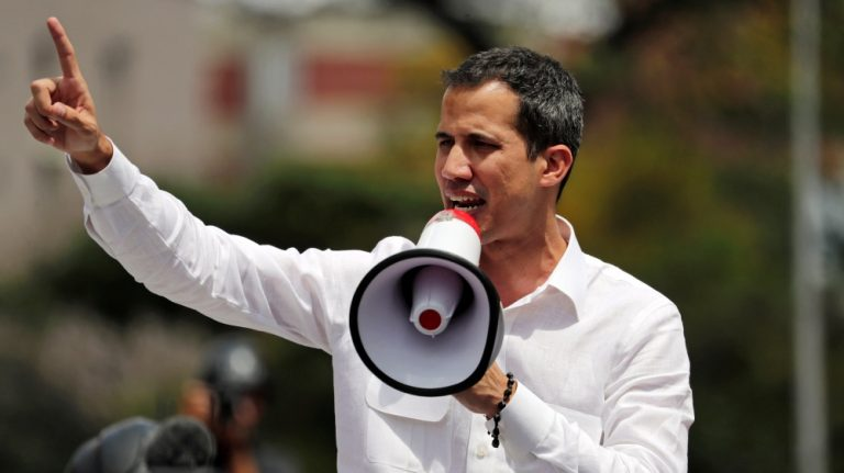 "The EU mission met with Guaidó for the first time and said it had the support of ""all parties"" in Caracas"