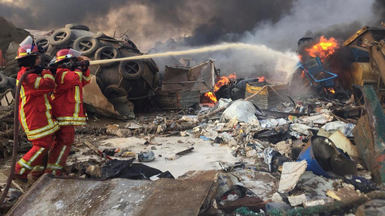The Lebanese army is removing more than four tons of ammonium nitrate from the port of Beirut
