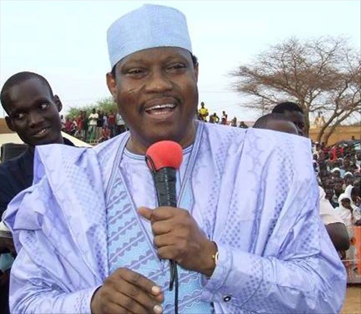 The opposition Hama Amadou, officially nominated as a presidential candidate in Niger