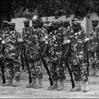 The Somali army frees 40 children kidnapped by Al Shabaab and kills 16 alleged members