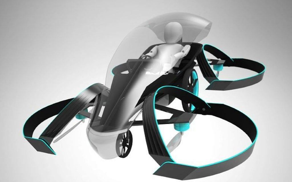 The Toyota-backed company just tested a flying car