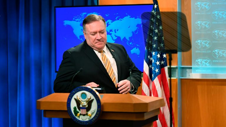 The US is imposing sanctions on Nicolás Maduro and the Iranian Ministry of Defense for violating the arms embargo
