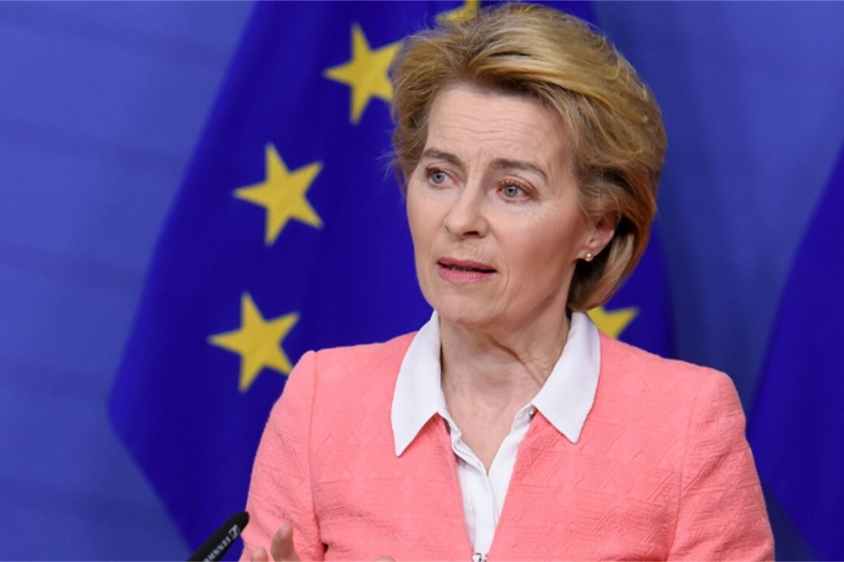 """Von der Leyen regrets that the distance between the EU and Turkey is growing: """"Dialogue is the only way out"""""""
