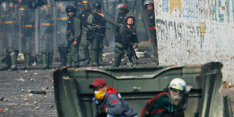 A Colombian soldier kidnapped in the border area with Venezuela