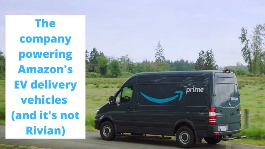 Amazon Trucks? This is his first electric van made exclusively for shipping