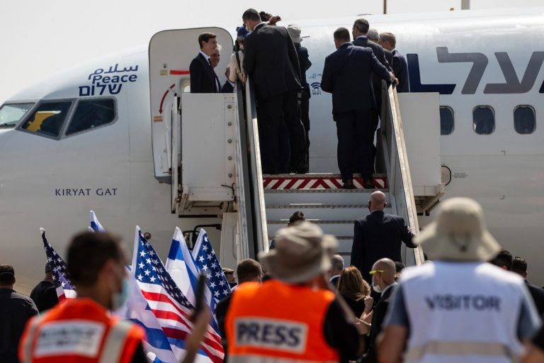 First passenger flight in history from the UAE lands in Israel following a historic bilateral agreement