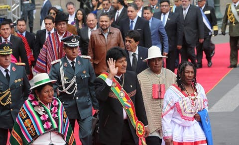 """Luis Arce marks distances with Evo Morales: """"It will be my government"""""""