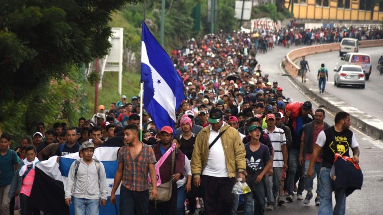 Mexico is sending hundreds of agents to the Guatemala border to prevent Honduran migrants from entering