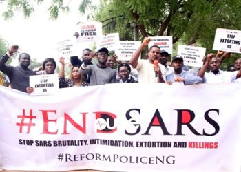 Nigerian police recommend that 24 former SARS team officers be charged with abuse
