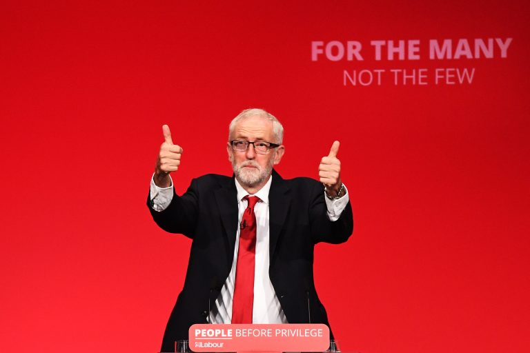 The British Labor Party cuts Corbyn off after a report on anti-Semitism