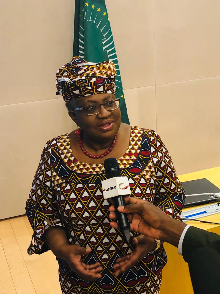 The EU will support the Nigerian candidate Ngozi Okonjo-Iweala in leading the WTO