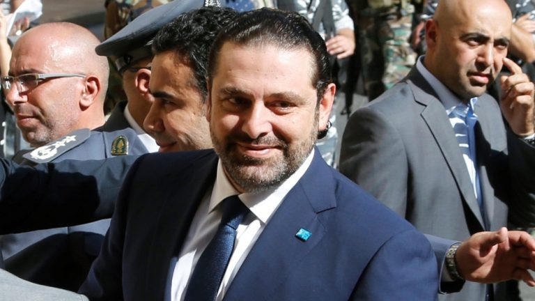 "The Lebanese president says he will ""take responsibility"" for the next prime minister"