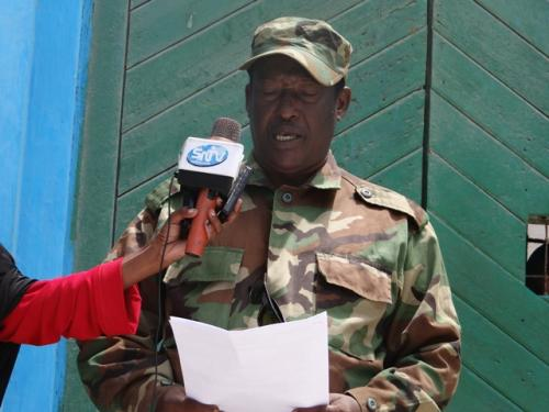 The Somali military tribunal sentenced Kenyans to death for membership of the Islamic State