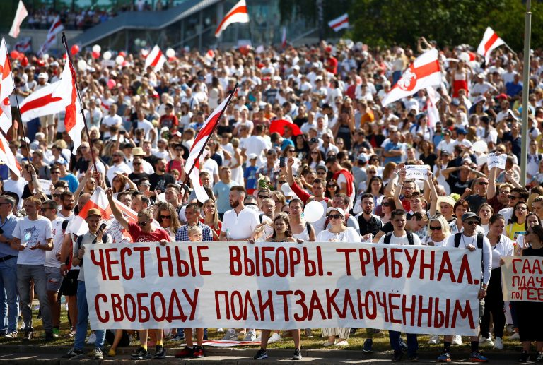 The strike of the Belarusian opposition begins with protests by workers against Lukashenko