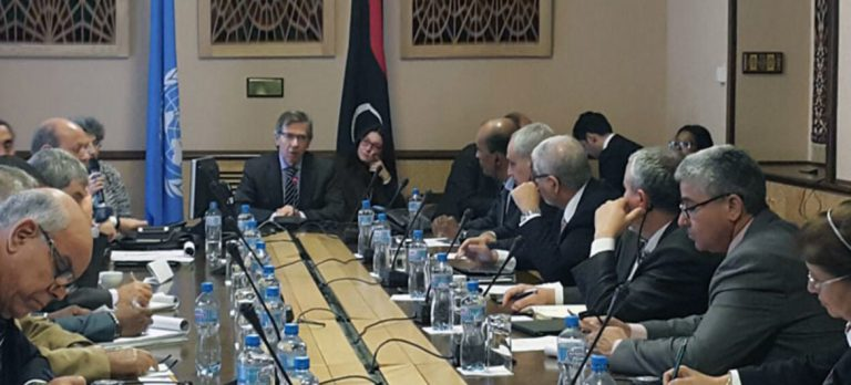 The UN announces the start of the political peace talks in Libya this Monday