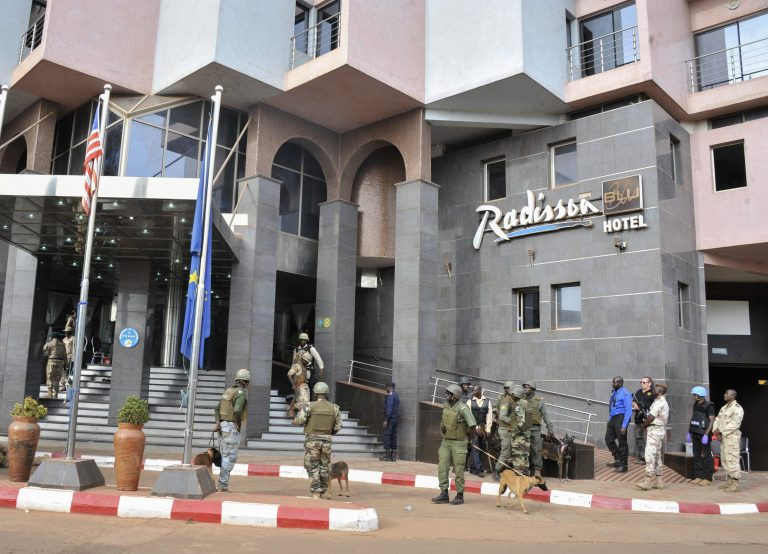 Three people were sentenced to death in Mali for the 2015 attacks on a restaurant and hotel in Bamako