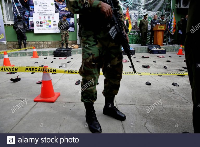 Three police officers were kidnapped during an anti-drug operation in the Chapare region of Bolivia