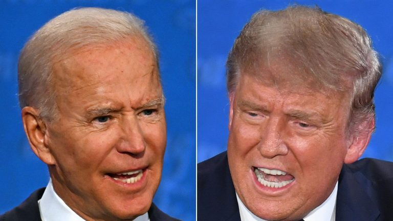 Trump and Biden park the chaos of the campaign in a quiet debate that leaves no clear winner