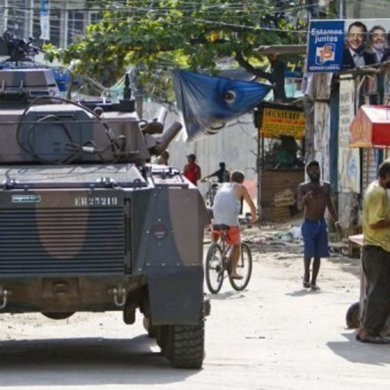 Twelve suspected members of a criminal group die during a police operation in Rio de Janeiro