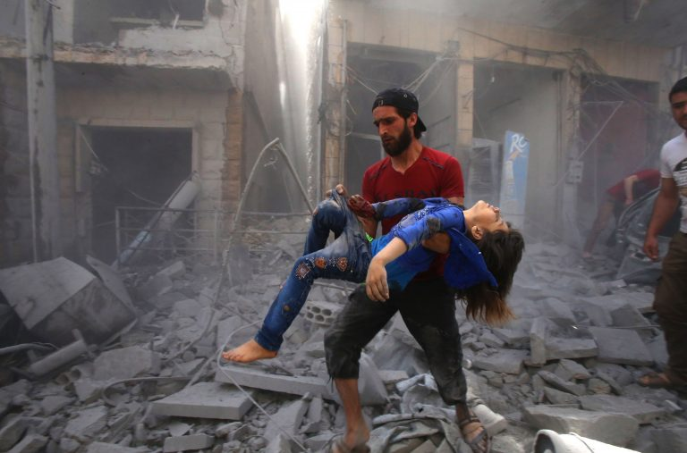 Two prominent members of the Al Qaeda branch in Syria and a child die in a US bomb attack in Idlib