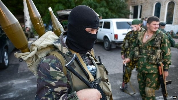 Two Ukrainian soldiers killed in an attack by pro-Russian forces in eastern Ukraine