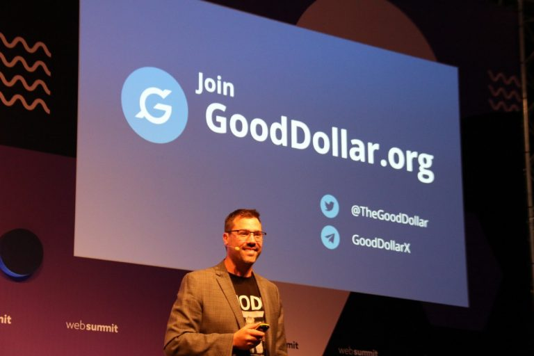 """What is GoodDollar and what is behind this """"free money""""?"""