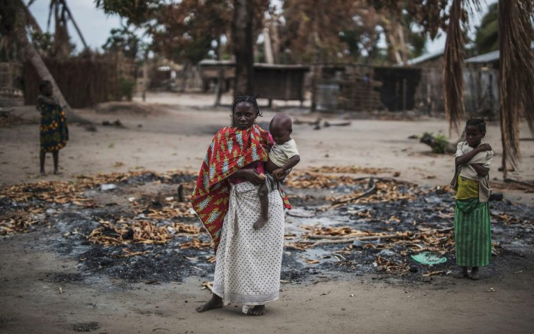 At least nine people die in an attack by the Islamic State in northern Mozambique