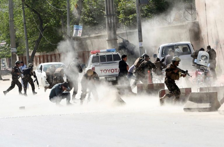 At least three dead, including a former journalist, in an explosion in Kabul