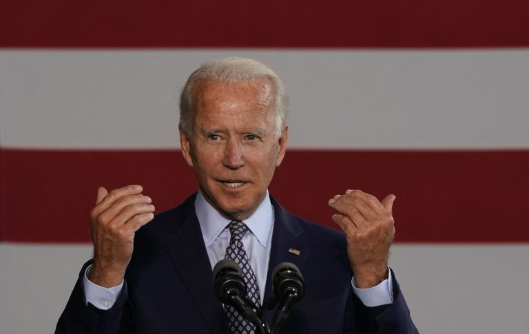 Biden and Trump split in the first two cities and showed election results