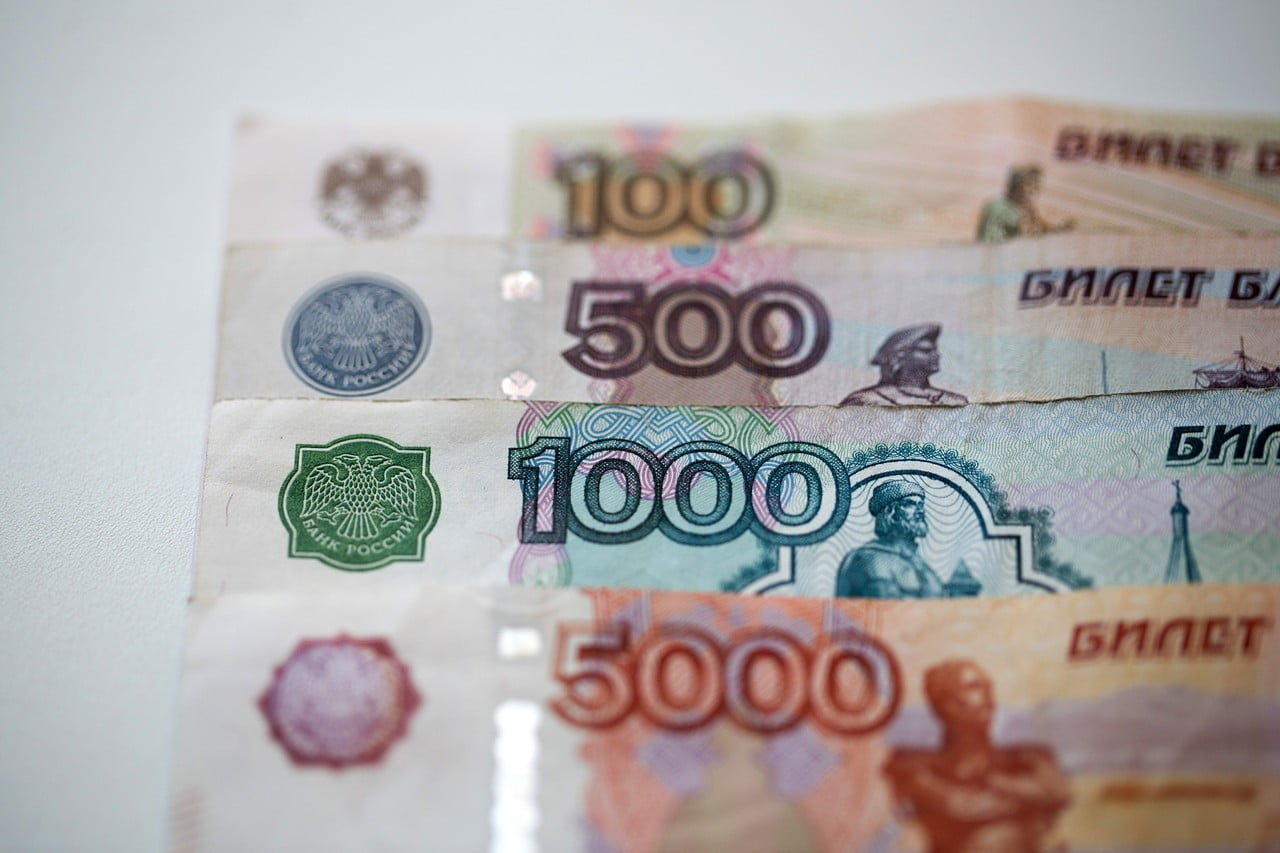 Bitcoin hits an all-time high against the Russian ruble