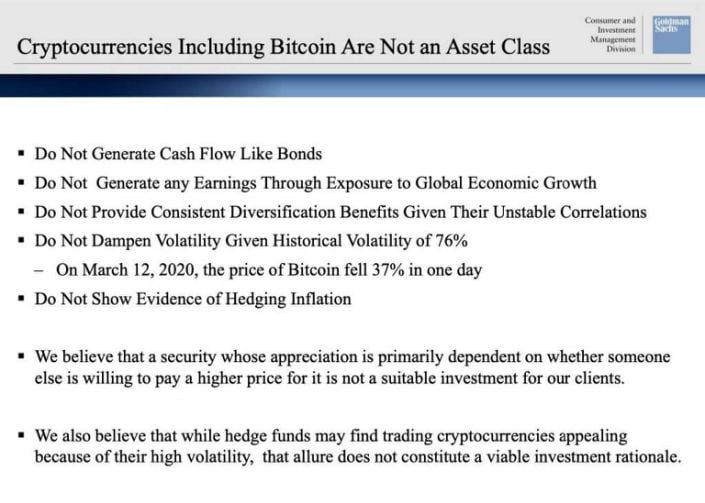 Brian Brooks from the OCC highlighted the importance of cryptocurrencies in a speech to the US Senate.