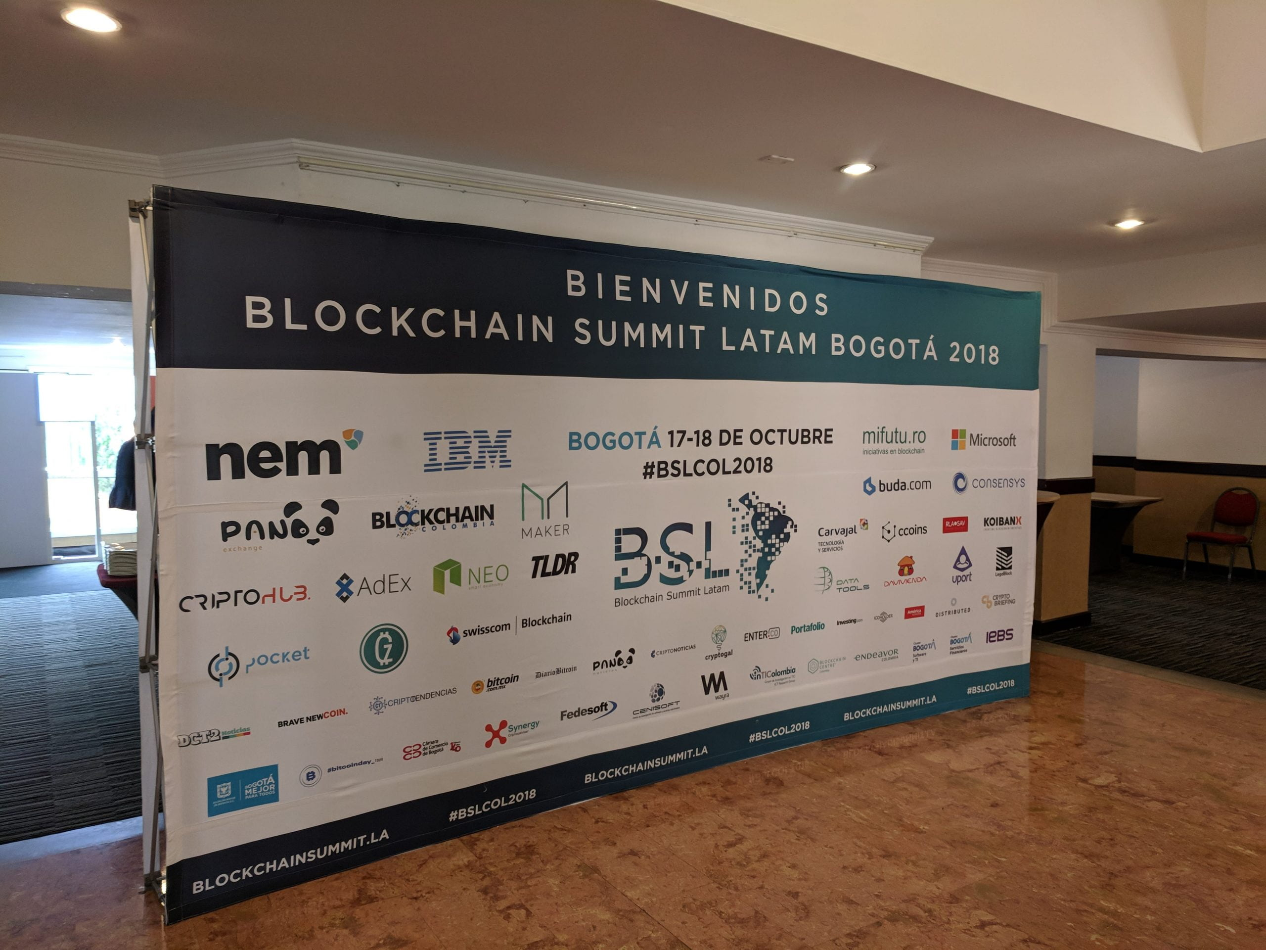 Colombia's ecosystem had its place at the Blockchain Summit Latam 2020