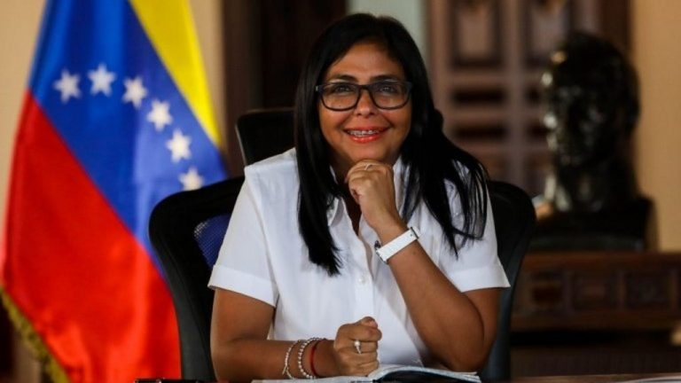 Delcy Rodríguez is downplaying the fact that the United States and the EU do not recognize the elections in Venezuela