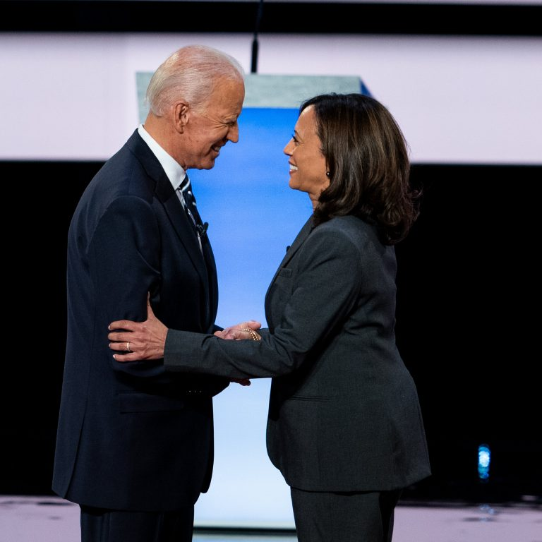 Democratic Party leaders congratulate Biden on his election and the historic victory of Kamala Harris